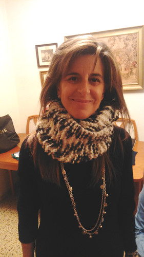 Carmen & her infinity scarf