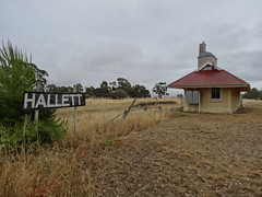 Hallett. The Railway Station is now a weekender.