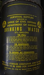 Survival Supplies - Drinking Water 17 1/2 Gallons {監獄}