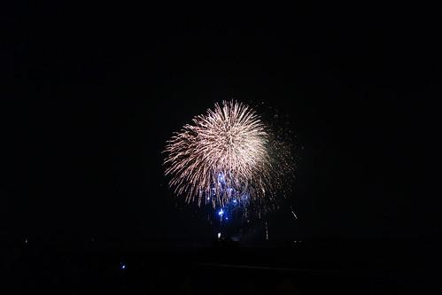 Kumagaya Fireworks_1 熊谷花火大会の写真。 美しい花火。