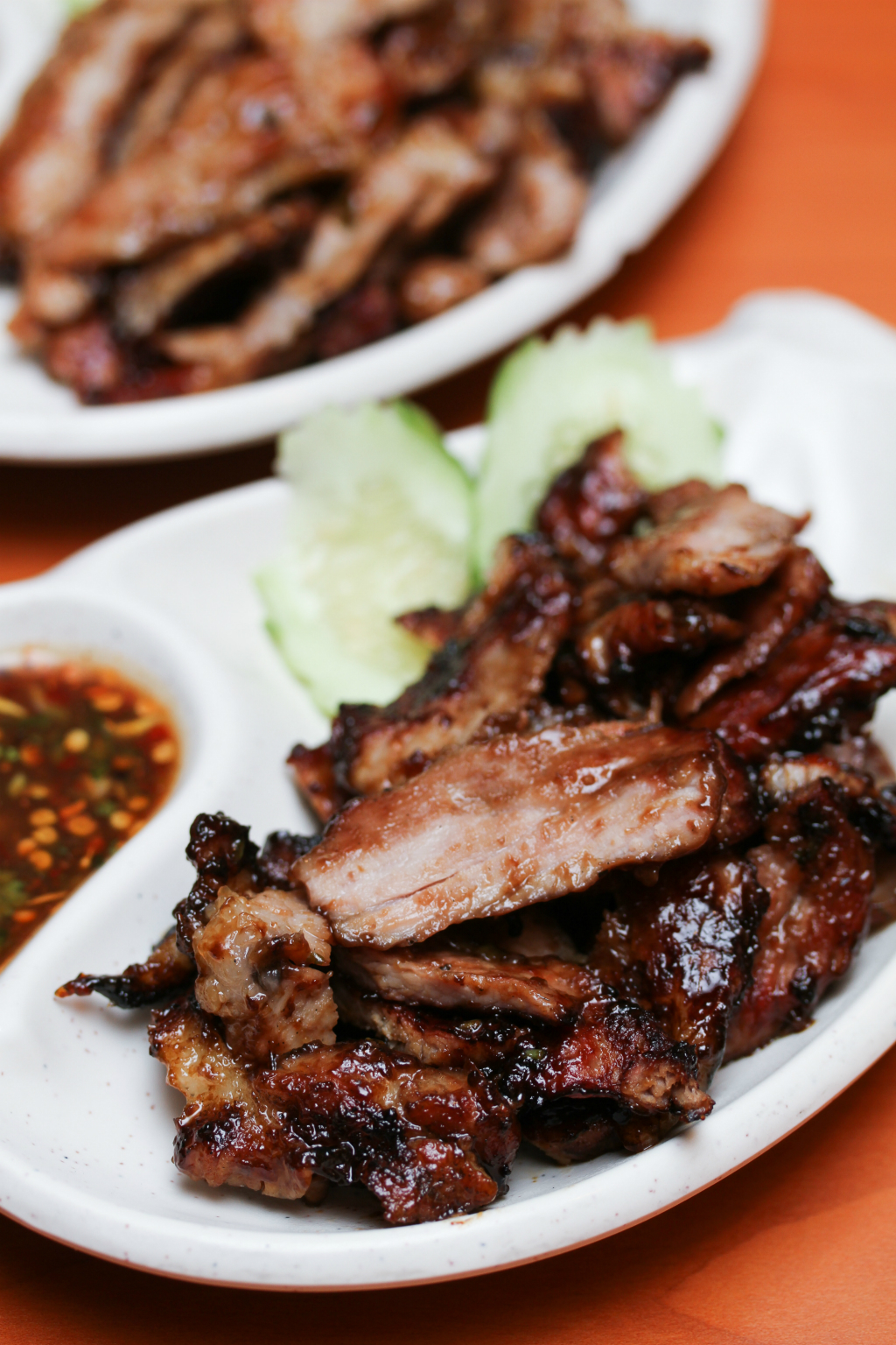 Spicy Thai - Thai Cafe: BBQ Pork Neck