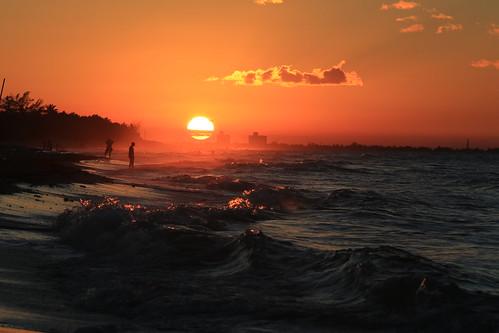 sunset canon fantastic cuba 5d varadero