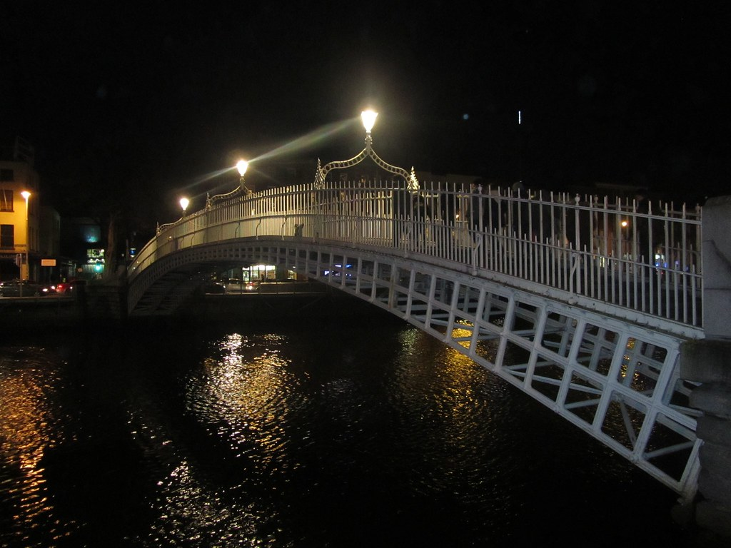 Puente del medio penique