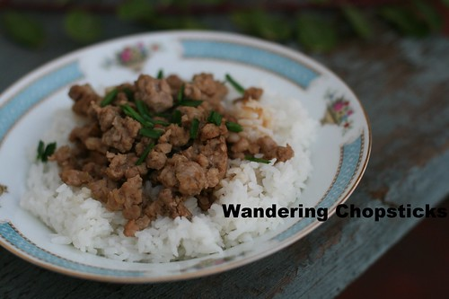 Taiwanese Minced Pork Rice 2