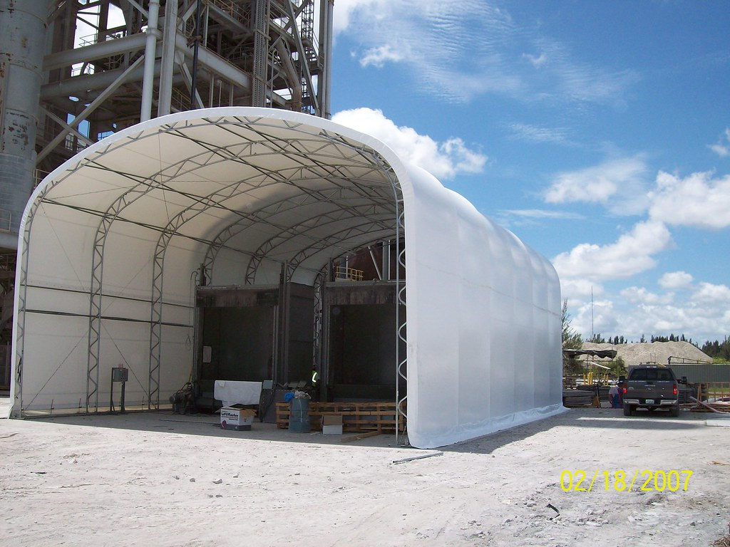 Big Top Shelters : Big top fabric structures