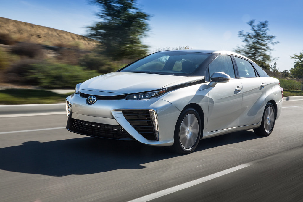 Toyota Mirai makes East Coast debut