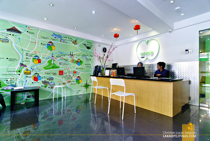 Apple Hotel Lobby in Bukit Bintang, Kuala Lumpur