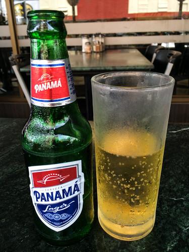 Panama City: pas vraiment de goût cette bière Panama ;)