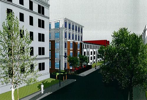 Peterborough Apartments Renderings