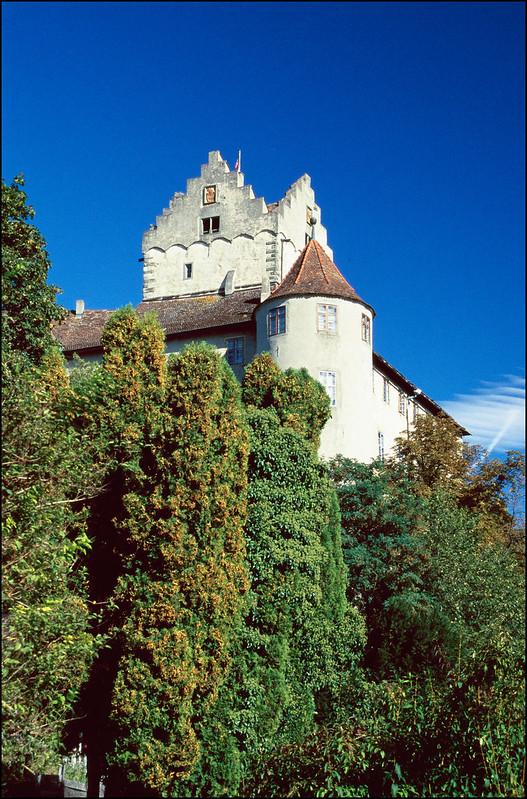 Burg Meersburg (Hochformat)