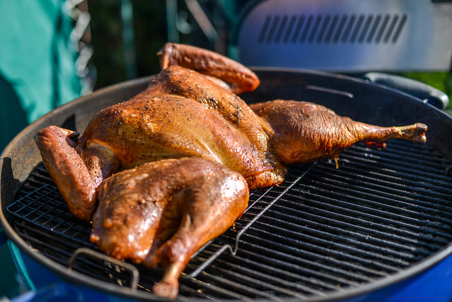 Grilled Spatchcocked Turkey