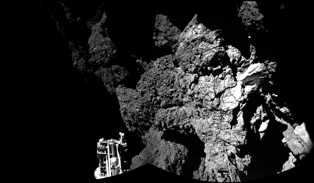 Rosetta's Philae probe has successfully landed on a comet! (updated)