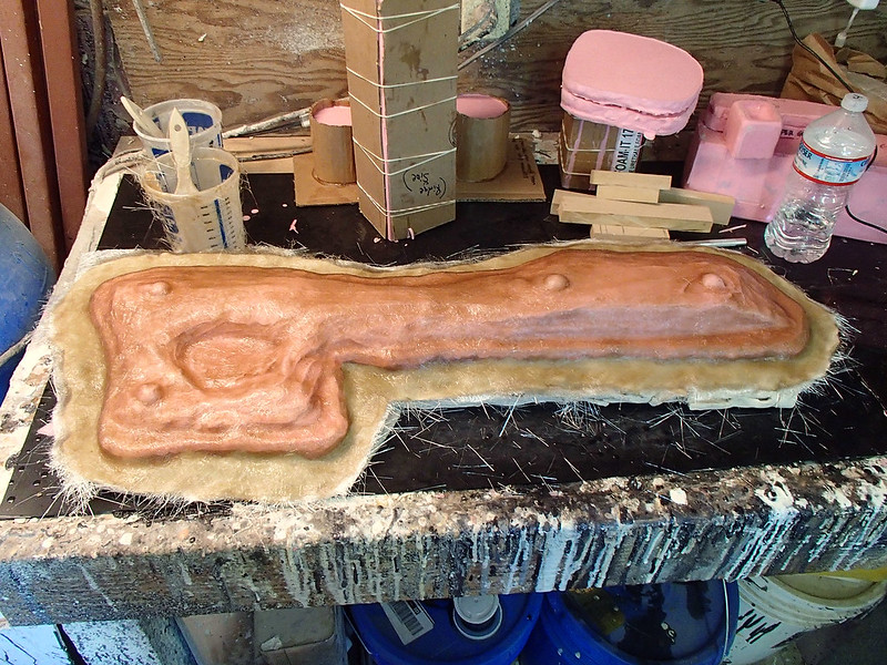 Aug 17 Lightning Gun Body Mold Progress 03