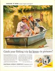 1961 Kodak Camera Advertisement The Saturday Evening Post April 8 1961