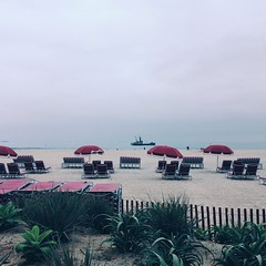 Watching the #fishing boats on a gray day last week. #overcast #beach #coronado #view #ocean #pacific #california