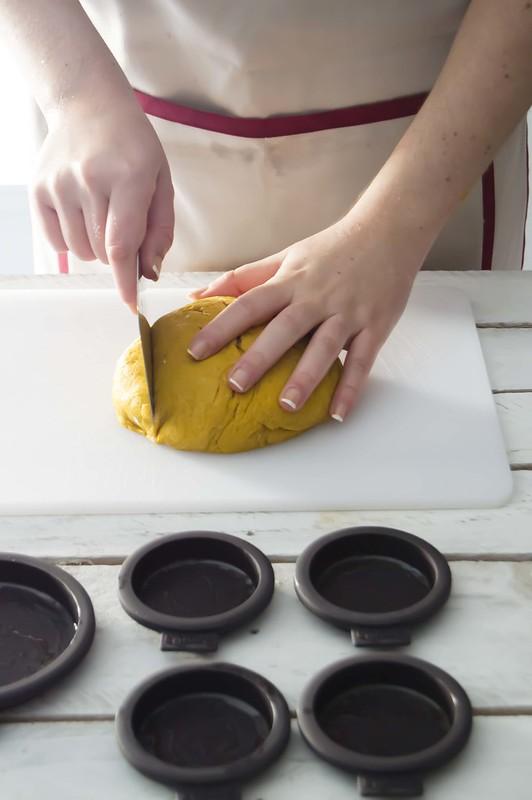 Hamburguesas con pan de curry