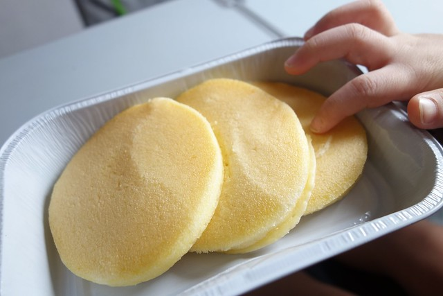 Impressive, soft fluffy pancakes!