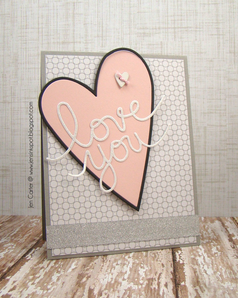 Jen Carter Country Heart Love You Card