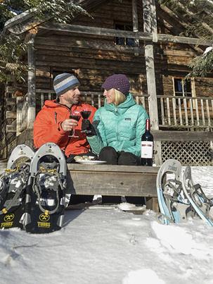 Woodstock Inn snowshoeing