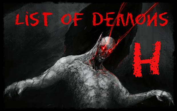 List of Demons H