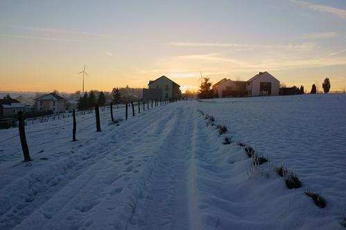 sunset snow luxembourg luxemburg nex lieler emount nex5r sonynex5r lewist584 1855mmf3556kitlensoss