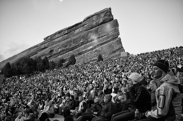 Easter Sunrise Service at Red Rocks Amphitheater