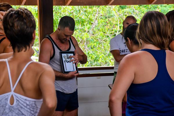 Teaching Anatomy at Yoga Teacher Training in Costa Rica