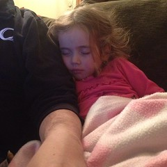 Someone insists she doesn't need #naps. Silly #sleepy #girl