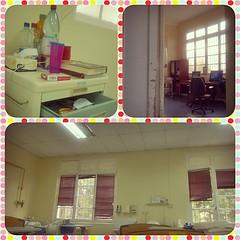 Vistas del #Hospital desde mi cama...