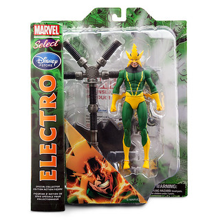 Marvel Select【電光人 Electro】漫畫版 迪士尼商店限定 電流來襲