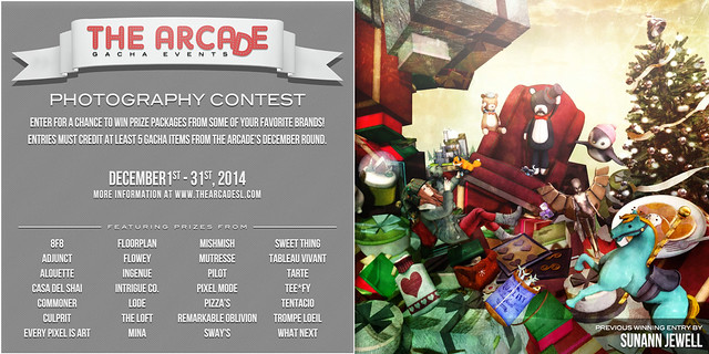 The Arcade Photography Contest - December, 2014