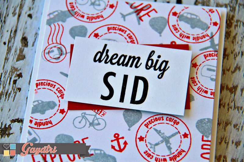 Dream big Sid closeup