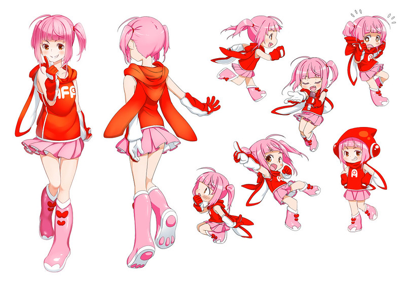 Seika character art design