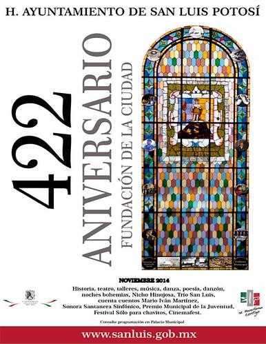 422 aniversario de la Fundación de la Ciudad de SLP