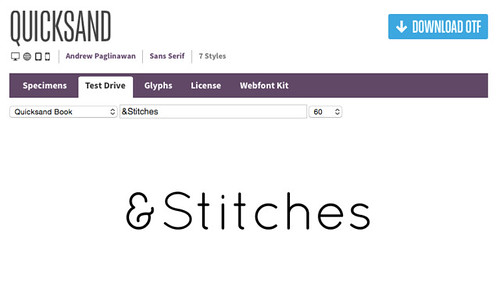 Tutorial: How to Choose and Layout Text for Stitching