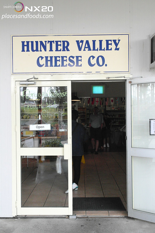 hunter valley cheese co door
