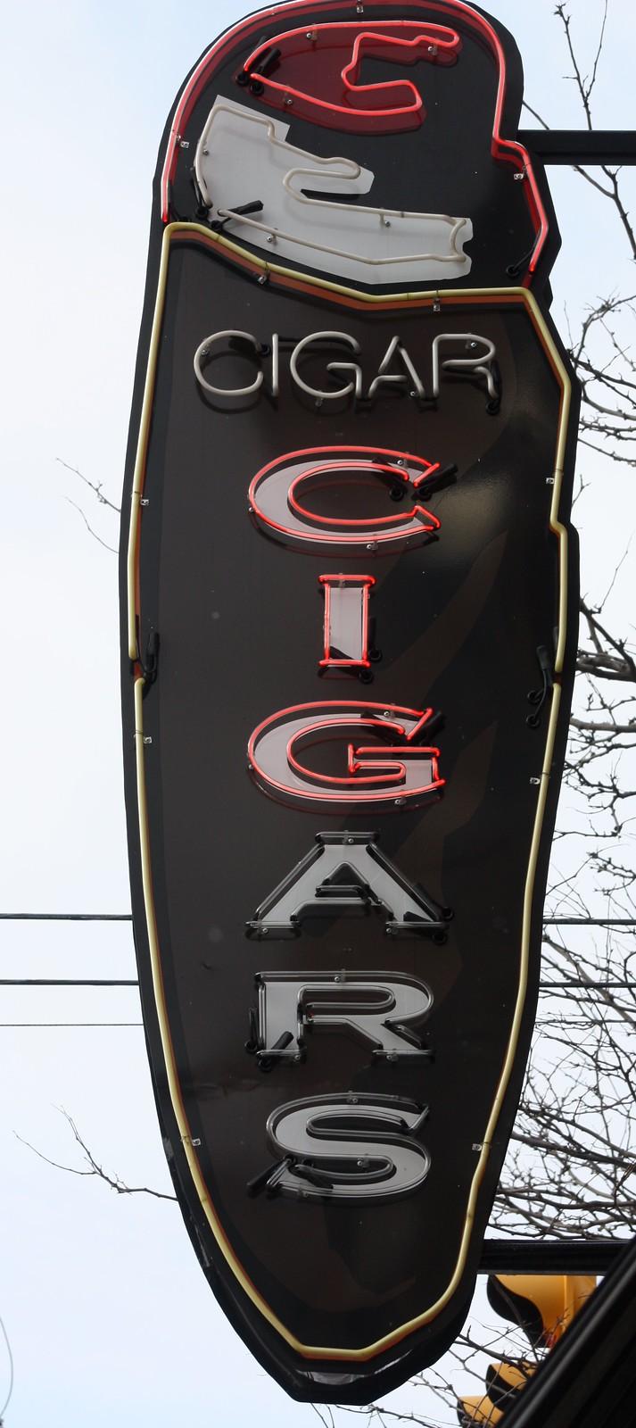 Cigar Sign