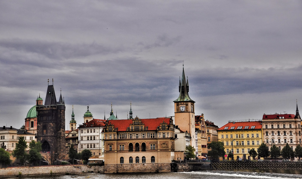 View from Kampa Island, Prague