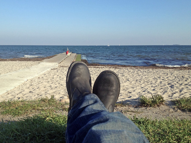 Charlottenlund Beach Park - Traveling Boots