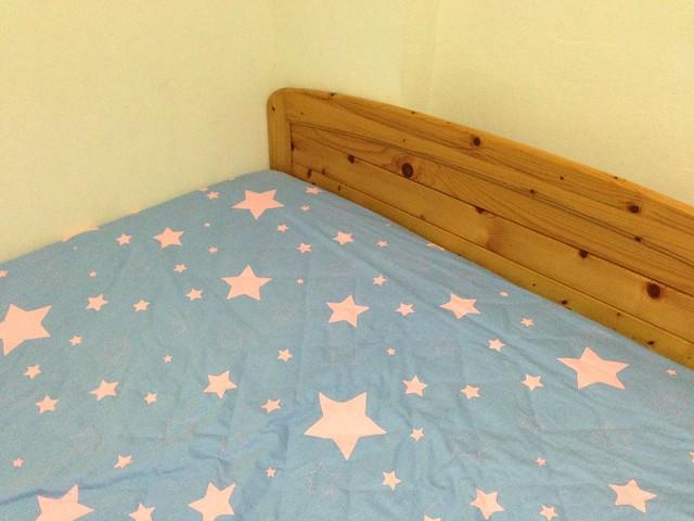 完整鋪好的樣子@Olivia西式床包