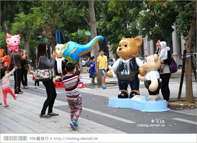【台中泰迪熊草悟道】台中泰迪熊展2014地點(草悟道篇)~熊可愛‧親子熊超卡哇依!13