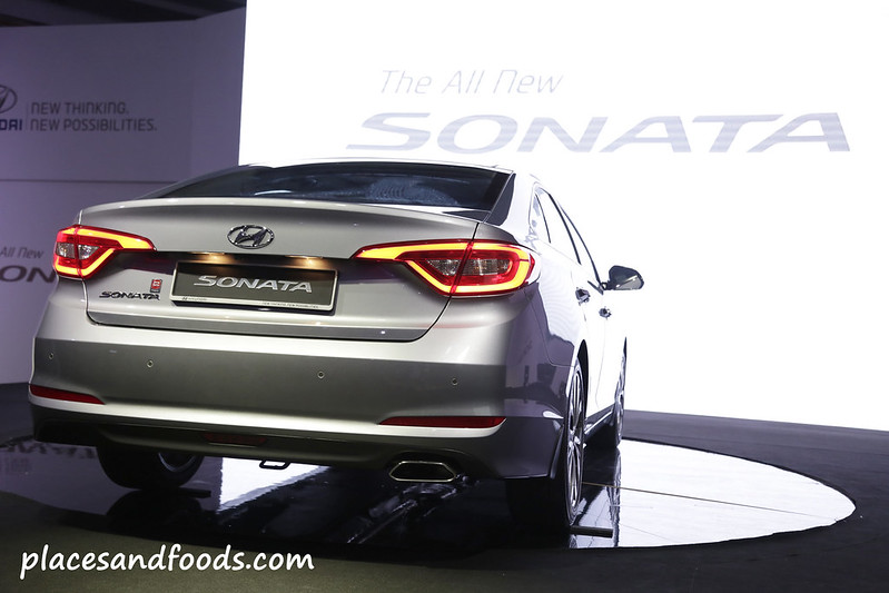hyundai sonata 2015 back view