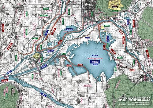 伏見南部~巨椋池:明治42年(1909)測図
