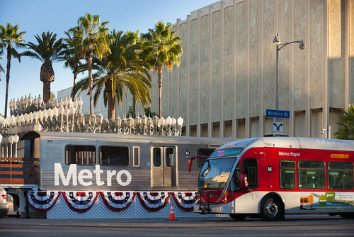 LACMTA Metro Purple Line Westside Extension groundbreaking ceremony, November 7, 2014