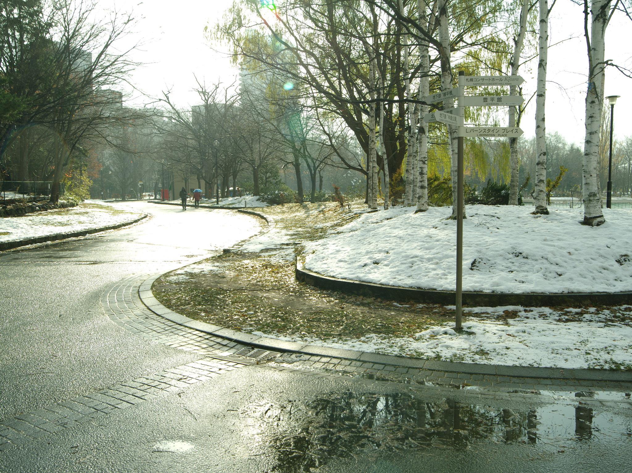 北海道 札幌市 中島公園 by Pentax 645D