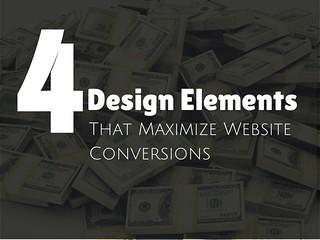 4 Elements of Web Design That Maximize Conversion