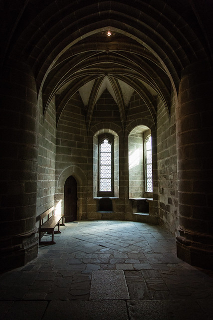 Interior of the Monastery