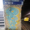 French metro. Paris.