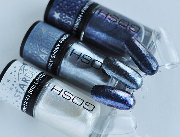 stylelab beauty blog Gosh Stardust nail lacquers swatches