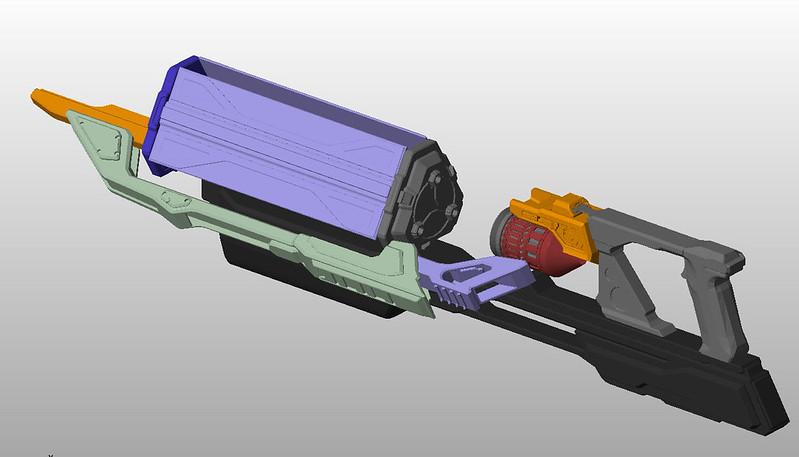 Lightning Gun Parts